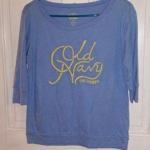 Old Navy 3/4 length sleeve t-shirt